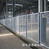 厂家生产三角折弯护栏 浸塑铁丝网 车间室内隔离网