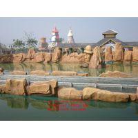 达州市通川区塑石假山雕塑、达川区喷泉瀑布、宣汉县水泥假山驳岸
