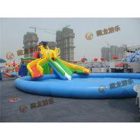 南京藏龙游乐儿童充气水滑梯供应商