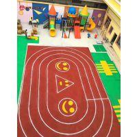 衡阳幼儿园彩色地胶施工/室外操场橡胶地垫材料厂家