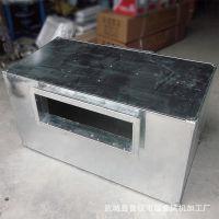 生产镀锌板静压箱 阻抗复合消声器消声静压箱空调系统管式消声器