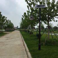 太阳能庭院灯欧式简约户外照明灯公园小区别墅区节能庭院太阳能灯长悦照明定制