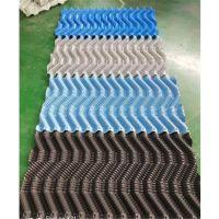 纯原料S波电厂填料 双曲线冷却塔填料透明 穿杆或胶水连接 品牌华庆