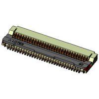 LOTES 0.4 PITCH FPC 连接器 H1.3 6-120PIN 前盖式 后盖式选