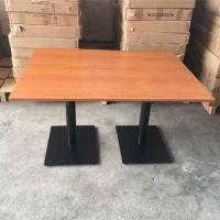 众美德餐厅家具定做,简约现代餐饮店桌子批发,实木餐桌定制厂家