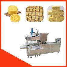 安徽六安全自动夹心绿豆糕机厂家联系方式 绿豆糕机出厂价是多少