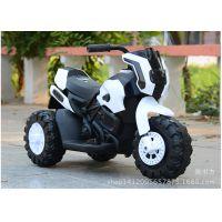 儿童电动摩托车三轮宝宝电瓶车灯光音乐小孩玩具车礼品电动车