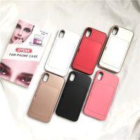 创意彩妆化妆品手机壳iPhone x美颜神器6s粉底盒个性女防摔硅胶套