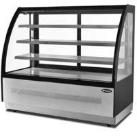 弧形蛋糕展示柜糕点冷藏展示柜 银都WDF097D蛋糕展示柜 保鲜冷藏