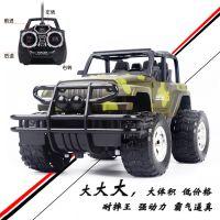 热卖无线遥控越野车 充电版耐摔仿真迷彩儿童电动玩具车模型批发