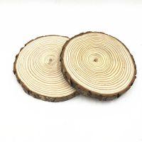 纯天然松木木片17cmDIY手工材料摄影道具手绘装饰木片年轮木片