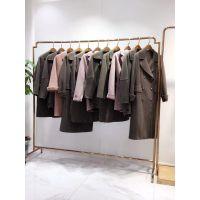 广州剪标折扣服装批发市场直播品牌剪标女装尾货一手货源