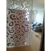 天津厂家专业定制会所装饰隔断装饰板美容院常用雕花板镂空板
