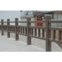 在环保是主题的年代里,护栏的未来发展,浙江仿木栏杆厂家电话