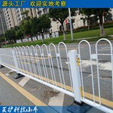 河源市政道路安全防护栏 厂区道路隔离栏 增城交通护栏安装