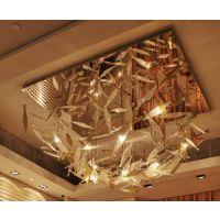 厂家定制设计酒店大堂意大利风格手工玻璃LED吊灯