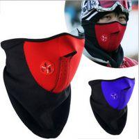 户外保暖cs骑行面罩 户外护脸摇粒绒面罩 滑雪护脸口罩