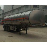 东风牌DFZ9403GRY型铝合金易燃液体罐式运输半挂车43立方米;