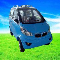 电动四轮轿车新款成人观光车迷你油电两用电瓶车全封闭电动车汽车
