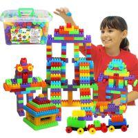 儿童3d立体拼图积木幼儿早教益智宝宝玩具0-3岁-4岁-5岁6岁带轮子