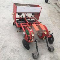 驰航拖拉机带的施肥播种机 谷子施肥精播机 免间苗藜麦精播机