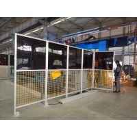 善昶厂家设计定做铝型材安全护栏机器人安全防护网