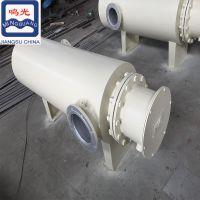 光明电热罐体加热器 立式管道加热器 管道式空气加热器 管道辅助恒温式管道加热器