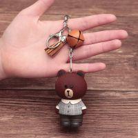 人气表情LINE 熊 兔娃娃MOON搪胶公仔玩偶创意礼品钥匙扣