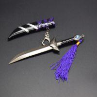 王者兵器兵器模型 兰陵王暗影刀锋带鞘刀剑金属玩具武器 未开刃