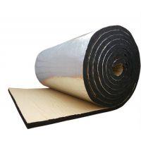铝箔贴面橡塑板-铝箔防火橡塑保温板-隔热吸音材料介绍