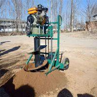 慧聪机械 制造种植专用挖坑机 新型汽油打眼机 轻便省油打洞机价格