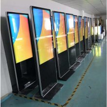 视聚科技50寸立式安卓网络智能广告机 LED高清室内广告机