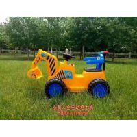 新款儿童全自动挖土机可坐挖掘机可骑老挖机玩具车电动工程车童车