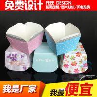 机制正方杯 方形纸盒蛋糕纸托 耐高温面包纸杯 烘焙防油淋膜纸托