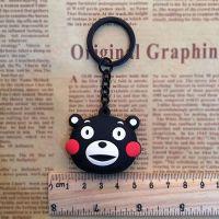 PVC动漫日本公仔钥匙扣 滴胶人物动物钥匙扣 背面印刷logo钥匙扣