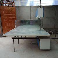 岩棉板全自动分切机 玻璃棉皮革数控裁条机设备厂家