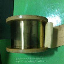 进口铍铜线 c17200高强度高弹性铍青铜线材