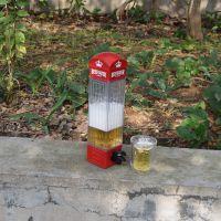 英国风情 电话亭分酒器 饮料饮水机 酒吧啤酒饮料机 食品级材质