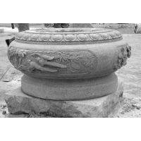 石雕柱墩石,柱础石,抱柱石厂家大量供应。