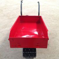 水田运苗机 草地不打滑的履带车 橡胶轮手推车 奔力LD-X2