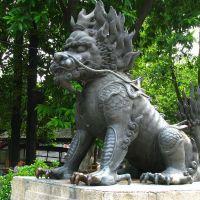 海南麒麟雕塑,铸铜雕塑,动物雕像厂家
