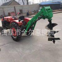 新型拖拉机带动挖坑机 果园种植挖坑机 厂家销售 拖拉机挖坑机
