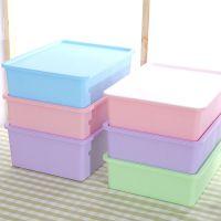 家用文胸收纳盒 抽屉式整理盒 加厚塑料有盖文胸内裤袜子收纳箱