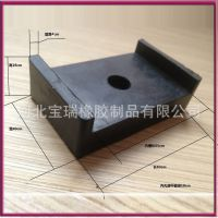 减震块 异形橡胶块 橡胶成型加工 按需定做 各种橡胶块