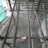 脚手架支架踏板 平台防滑钢板网 重型菱形钢板网定制