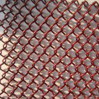 餐厅隔断金属软装饰网不锈钢户外建筑装饰网隔离垂帘定制