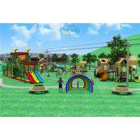 幼儿园室外木制不锈钢组合滑梯公园游乐园儿童乐园旅游景区游乐设备非标定制可加工定做