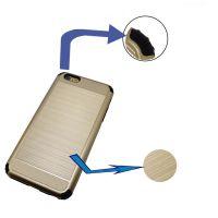 欧美时尚新款金属拉丝苹果iphone6P/6sPLUS手机配件数据线手机壳