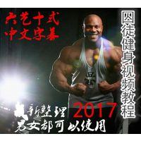 囚徒健身六艺十式全套教程肌肉男健身锻炼入门到精通教学培训视频
