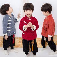 新款网店代理冬季套装女童汉服 一件待发中国风童装儿童唐装批发